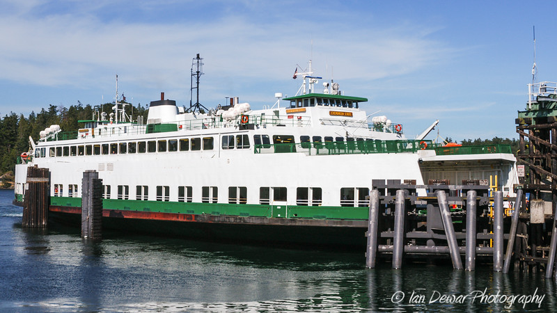 Evergreen State (Retired) at Friday Harbor