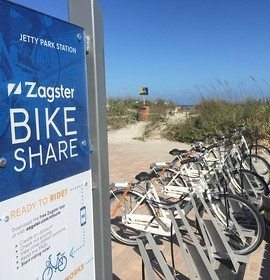 Zagster partners for suburban bike share