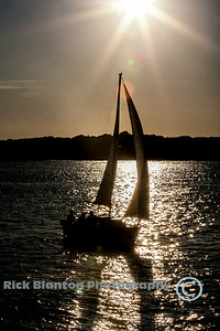 """ Silhoutte Sail """