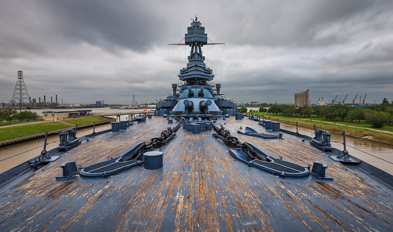 Attention on Deck - the USS Texas
