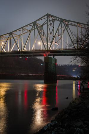 Crisp Night at the Bridge