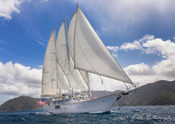 Schooner Arabella in the British Virgin Islands