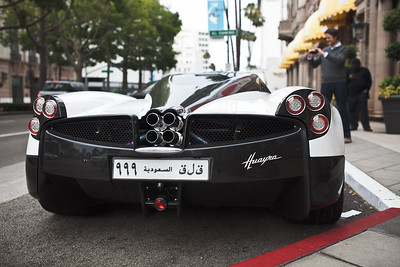 Pagani Huayra at Rodeo and Wilshire