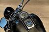 Motorcycle Speedometer and Handlbars