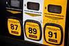 Premium Gas Price on Gas Pump