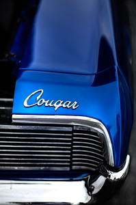1967 Cool Blue Mercury Cougar