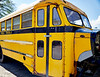Junked Public School Bus