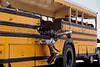 School Bus accident collision damages EMS Response