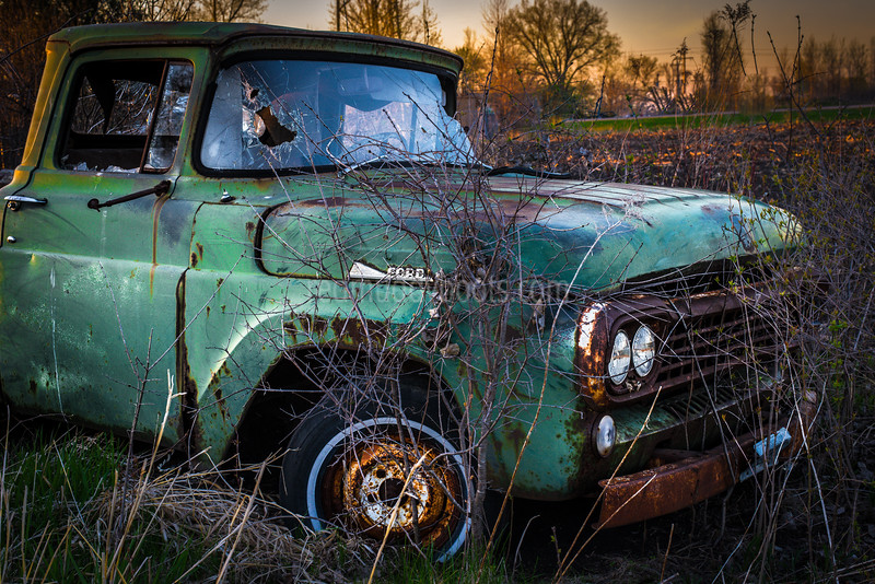 Ford at Sunset
