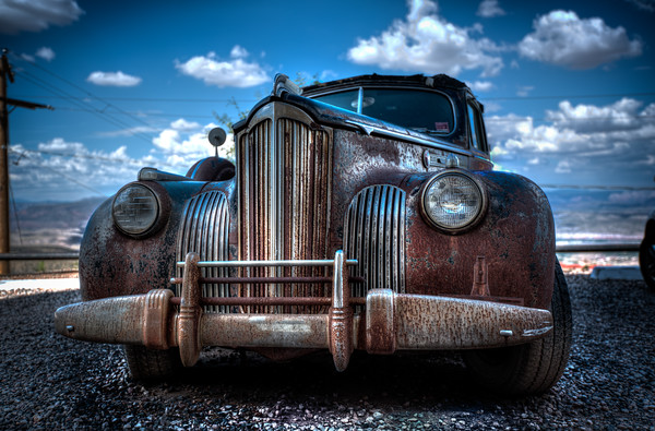Rusted Auto - Jerome, Arizona