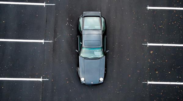 Porsche 928S from above