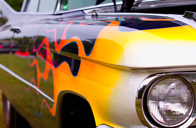 Flaming Caddy
