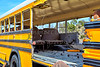 School Bus accident collision damage evacuation