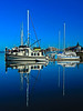 Boat Reflection Percival Landing