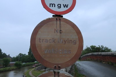 No Track Laying Machines - new one on me