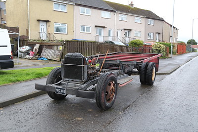 Greenock.  Usually it's just the wheels that are stolen...