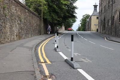 Edinburgh Road, Linlithgow cycle lane