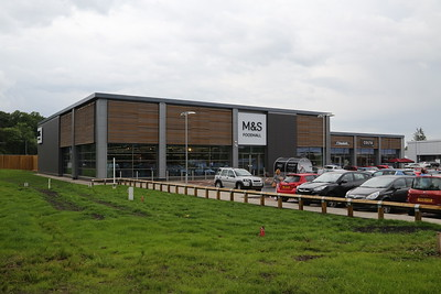 M&S Simply Food, Uddingston.  Tick in the Planning Consent book....