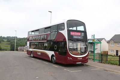 Harviestoun Park, Gorebridge. An early bus terminus of mine....