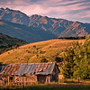 "Wanaka Camera Club_"" The Old Hut ""  by  Jacquie Scott........Total Points = 7<br /> <br /> Great landscape work with wonderful lighting and compositional balance."