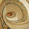 """"""" Staircase Berlin """"  By  Thierry Huet.<br /> <br /> The tones and detail in this image are superb. The circular composition of the staircase draws your eyes into the image.14"""
