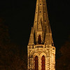 """ Christchurch Cathedral ""  by  Jacquie Scott.<br /> <br /> A wonderfully lit building highlighting the elegance of the spire. Perhaps a slightly earlier capture would have given the overall image a lift with regard to the night sky.	11"