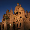 """""""  Sacre Coeur, Paris """"  By Thierry Huet.<br /> <br /> Right time of night, right angle, right everything.15"""
