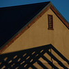 """"""" Lines And Angles """"  By  Allen Ford.<br /> <br /> I like the way the author has managed to include the structural frame in the shadows, echoed by the completed roof. The low light has produced nice tones but the image overall needs to be brightened slightly.12"""