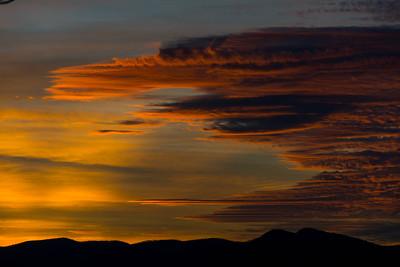 Sunset #4, Blue Ridge Mountains in North Carolina