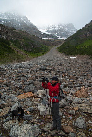 Photography in the Glacier Field