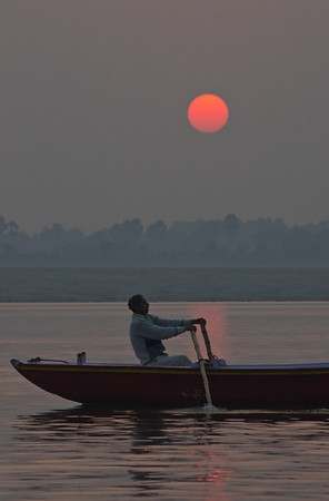 Dawn On The Ganges (IV)