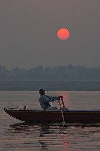 Dawn On The Ganges (IV)