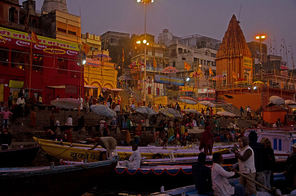 Dawn On The Ganges (II)