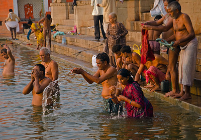 Dawn On The Ganges (IX)