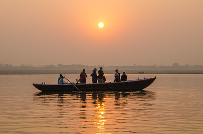 Dawn On The Ganges (VII)