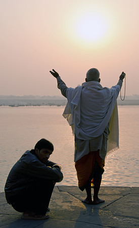 Dawn On The Ganges (X)