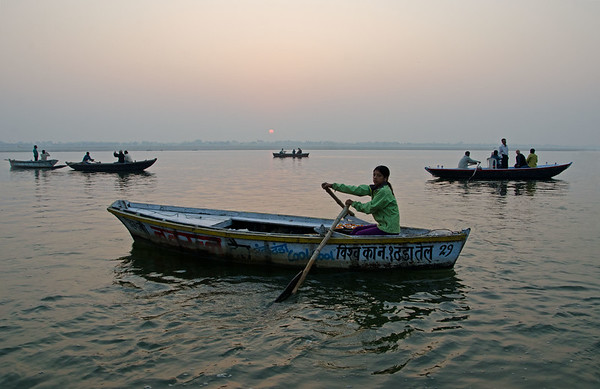 Dawn On The Ganges (V)