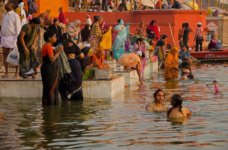 Dawn On The Ganges (VIII)