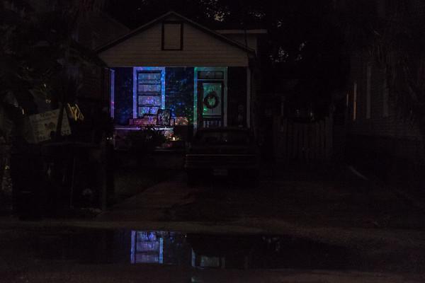 Laural Street at night