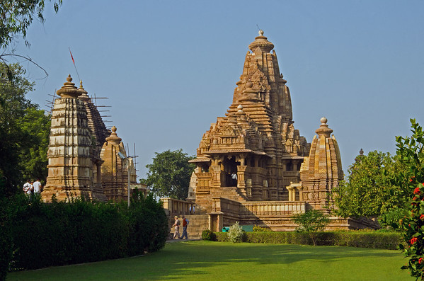 At The Temples Of KhaJuraho
