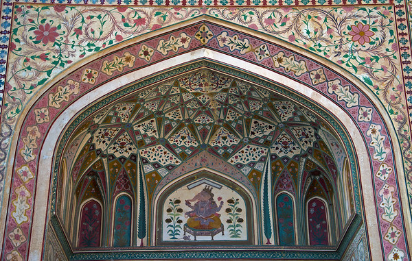 Decorating The Amber Fort
