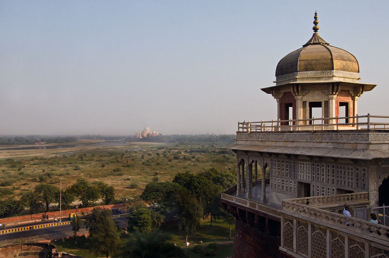 The View From The Agra Fort