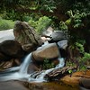 Waterview Creek small cascade near rock pools