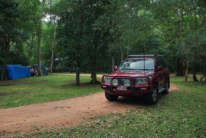 Jourama Falls camping area