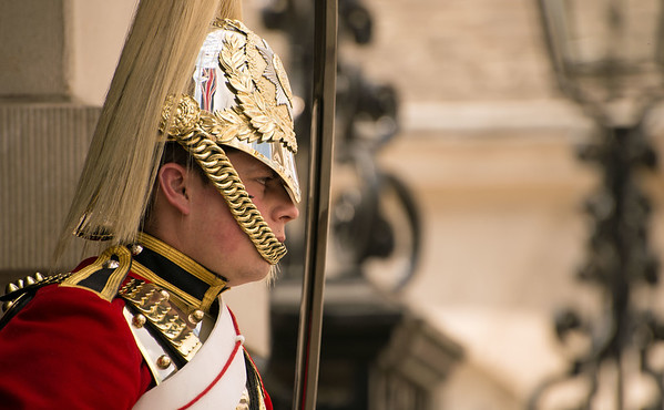 Guarding The Horse Guards Parade