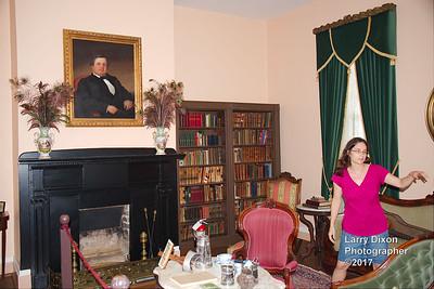 Inside the Mordecai house