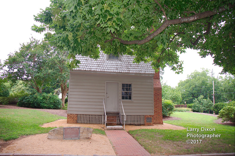The house President Andrew Johnson was born in
