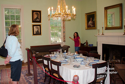Inside the Mordecai house