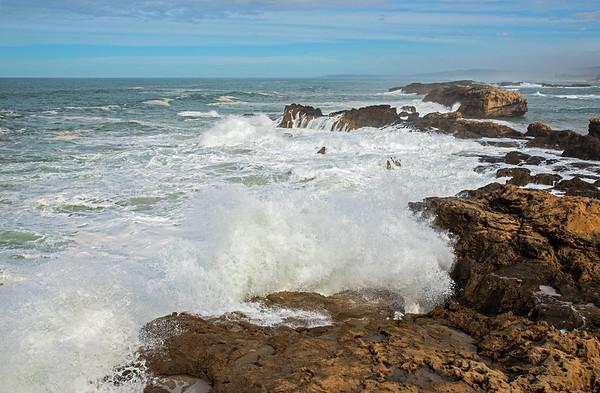 The Atlantic Ocean At Morocco