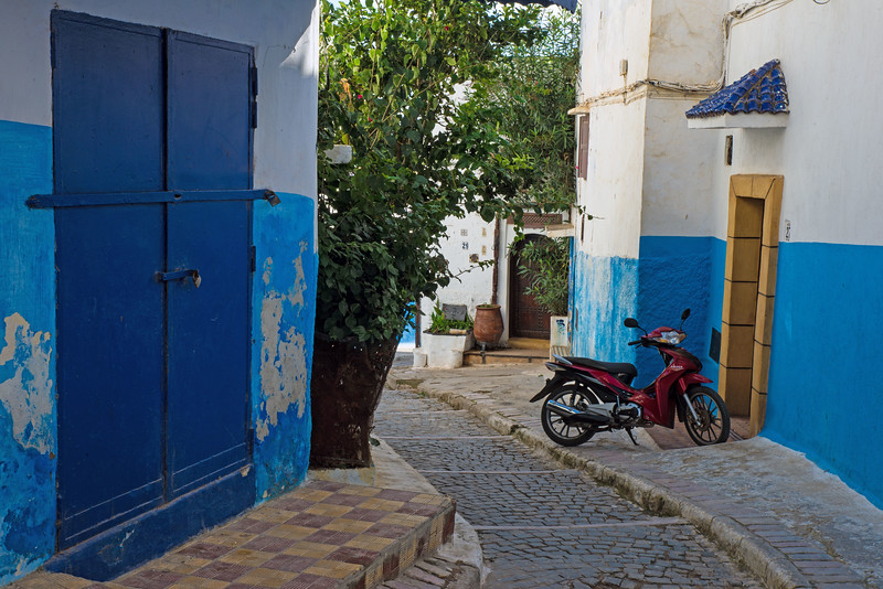 Rabat In Blue